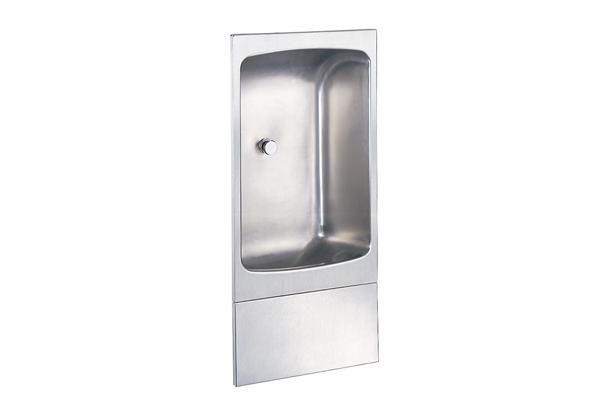 Image for Halsey Taylor Wall Mount Fully Recessed Cuspidor, Non-Filtered Non-Refrigerated Stainless from Halsey Taylor
