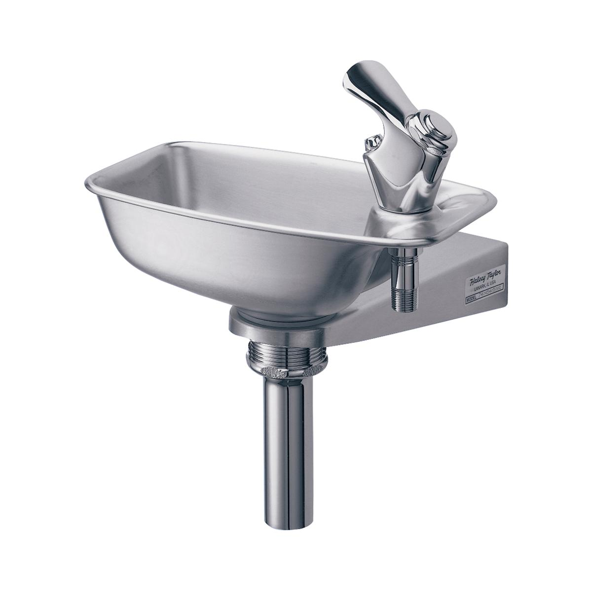 Halsey Taylor Bracket Fountain, Non-filtered Non-refrigerated Stainless 1785348