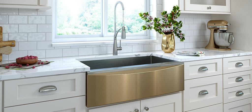 Elkay Interchangeable Apron Front Sink