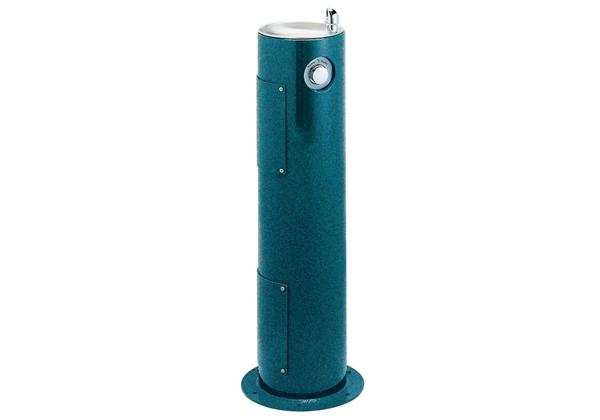 Image for Halsey Taylor EnduraII Tubular Outdoor Fountain, Pedestal, Non-Filtered, Non-Refrigerated, Sanitary Freeze Resistant from Halsey Taylor