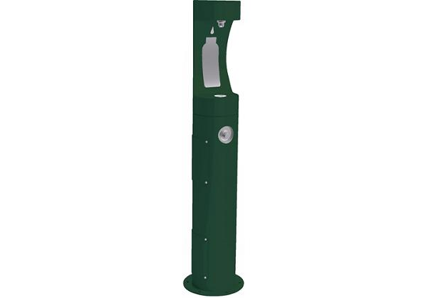 Image for Halsey Taylor Endura II Outdoor HydroBoost Bottle Filling, Station Pedestal Non-Filtered Non-refrigerated, Freeze Resistant from Halsey Taylor