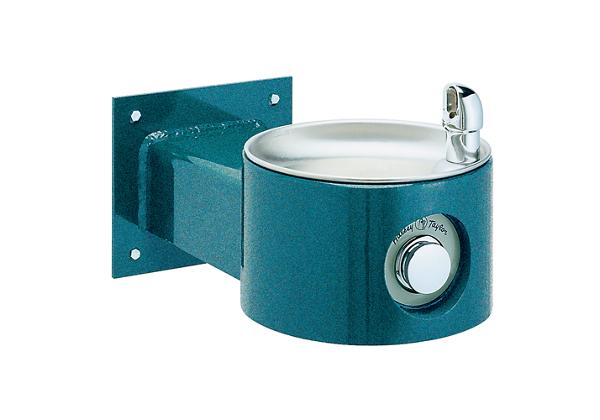 Image for Halsey Taylor EnduraII Tubular Outdoor Fountain, Wall Mount, Non-Filtered, Non-Refrigerated from Halsey Taylor
