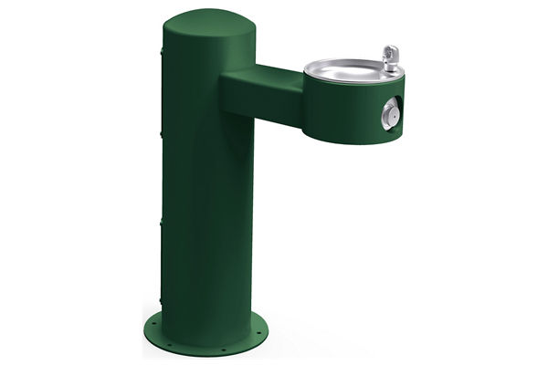 Halsey Taylor Endura II Tubular Outdoor Fountain, Pedestal Non-Filtered Non-Refrigerated