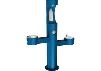 Image for Elkay Outdoor EZH2O Bottle Filling Station, Tri-Level Pedestal, Non-filtered, Non-refrigerated from ELKAY