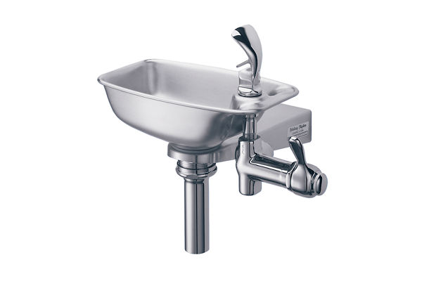 Halsey Taylor Bracket Fountain, Non-Filtered Non-Refrigerated Stainless