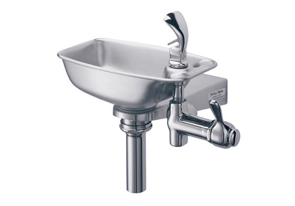 Image for Halsey Taylor Bracket Fountain, Non-Filtered, Non-Refrigerated, Stainless from Halsey Taylor