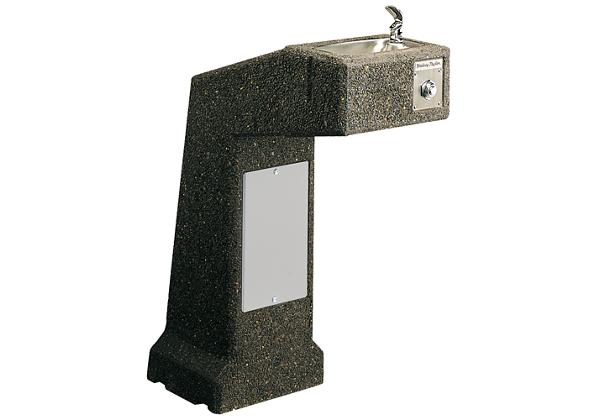 Image for Halsey Taylor Outdoor Sierra Stone Fountain, Pedestal, Non-Filtered, Non-Refrigerated from Halsey Taylor