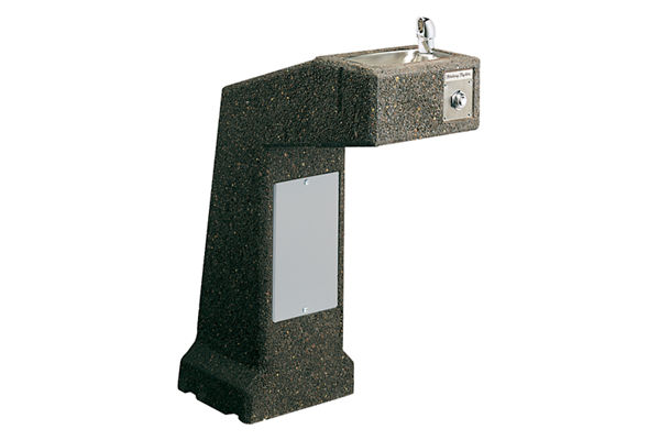 Halsey Taylor Outdoor Sierra Stone Fountain, Pedestal Non-Filtered Non-Refrigerated Freeze Resistant