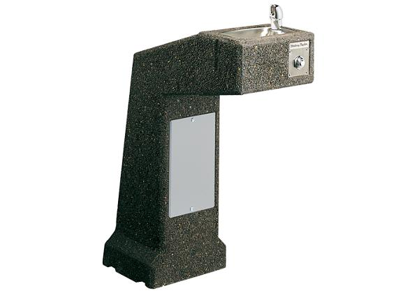Image for Halsey Taylor Outdoor Sierra Stone Fountain, Pedestal, Non-Filtered, Non-Refrigerated, Freeze Resistant from Halsey Taylor