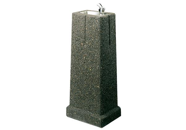 Image for Halsey Taylor Outdoor Sierra Stone Fountain, Pedestal Non-Filtered Non-Refrigerated from Halsey Taylor