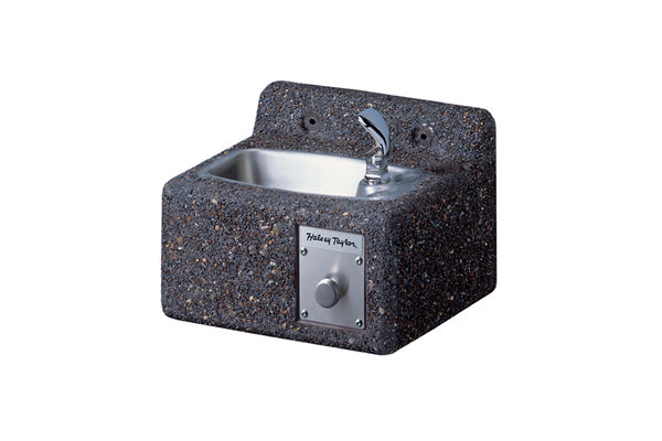 Halsey Taylor Outdoor Endura Stone Fountain, Wall Mount, Non-Filtered, Non-Refrigerated