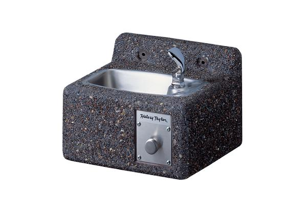 Image for Halsey Taylor Outdoor Endura Stone Fountain, Wall Mount, Non-Filtered, Non-Refrigerated from Halsey Taylor