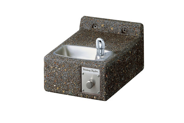 Halsey Taylor Outdoor Sierra Stone Fountain, Wall Mount Non-Filtered Non-Refrigerated Freeze Resistant