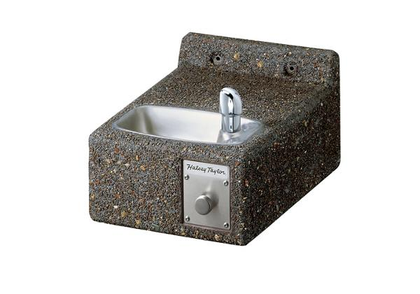 Image for Halsey Taylor Outdoor Sierra Stone Fountain, Wall Mount, Non-Filtered, Non-Refrigerated, Freeze Resistant from Halsey Taylor