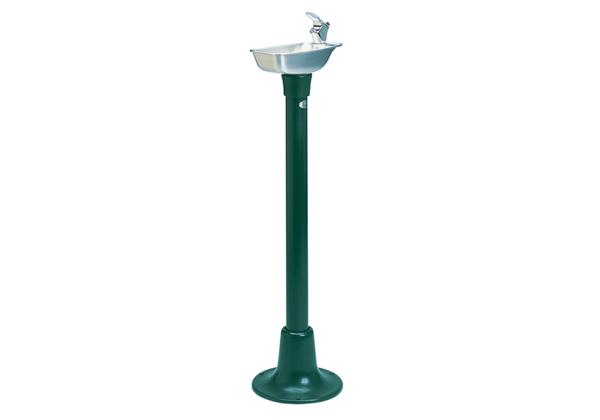 Image for Halsey Taylor Outdoor Cast Iron Fountain, Non-Filtered, Non-Refrigerated, Forest Green from Halsey Taylor