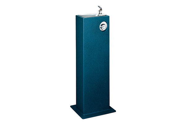 Halsey Taylor Outdoor Endura Pedestal Fountain, Non-Filtered, Non-Refrigerated, Freeze Resistant