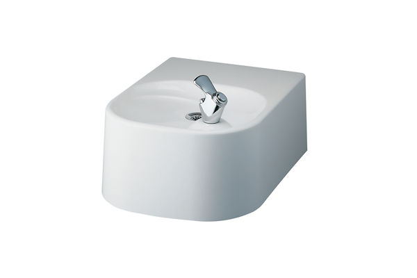 Halsey Taylor Composite Gel-Coat Fountain, Non-Filtered, Non-Refrigerated, White Granite Composite