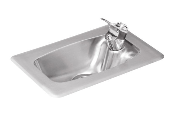 Halsey Taylor Countertop Fountain, Non-Filtered, Non-Refrigerated, Stainless
