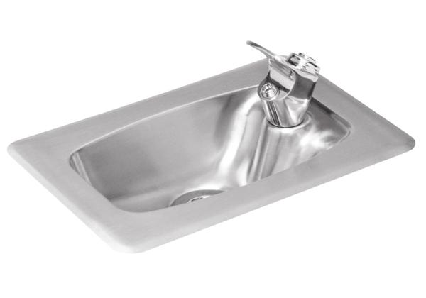 Image for Halsey Taylor Countertop Fountain, Non-Filtered, Non-Refrigerated, Stainless from Halsey Taylor