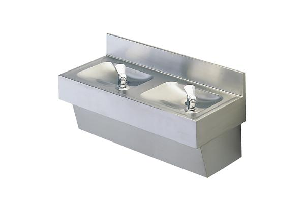 Image for Halsey Taylor Multi-Station Fountain, Non-Filtered Non-Refrigerated Stainless from Halsey Taylor
