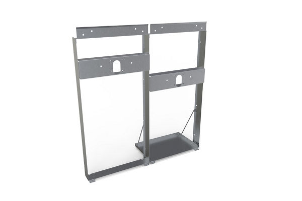 Halsey Taylor Mounting Frame for bi-level OVL-II SER/ESR