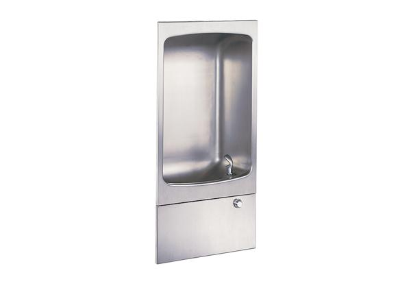Image for Halsey Taylor Wall Mount Fully Recessed Fountain with Cuspidor, Non-Filtered, Non-Refrigerated, Stainless from Halsey Taylor