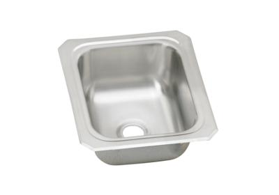 "Image for Elkay Celebrity Stainless Steel 13"" x 15"" x 6-1/8"", Single Bowl Top Mount Bar Sink from ELKAY"