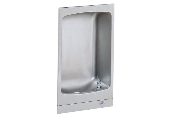 Image for Halsey Taylor Wall Mount Fully Recessed Fountain, Non-Filtered, Non-Refrigerated, Stainless from Halsey Taylor