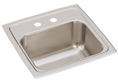 "Image for Elkay Lustertone Classic Stainless Steel 15"" x 15"" x 7-1/8"", Single Bowl Drop-in Bar Sink from ELKAY"