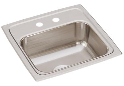 "Image for Elkay Lustertone Classic Stainless Steel 15"" x 15"" x 6-1/8"", Single Bowl Drop-in Bar Sink from ELKAY"
