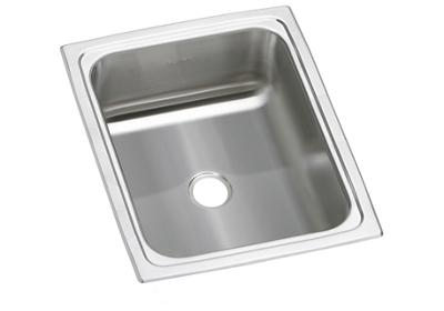 "Image for Elkay Pacemaker Stainless Steel 12-1/2"" x 15"" x 6-1/8"", Single Bowl Top Mount Bar Sink from ELKAY"