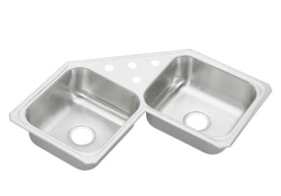 Image for Gourmet (Celebrity®) Stainless Steel Double Bowl Top Mount Sink from elkay-consumer