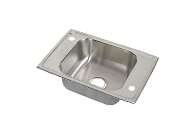 "Image for Elkay Celebrity Stainless Steel 25"" x 17"" x 6-1/2"", Single Bowl Top Mount Classroom ADA Sink from ELKAY"