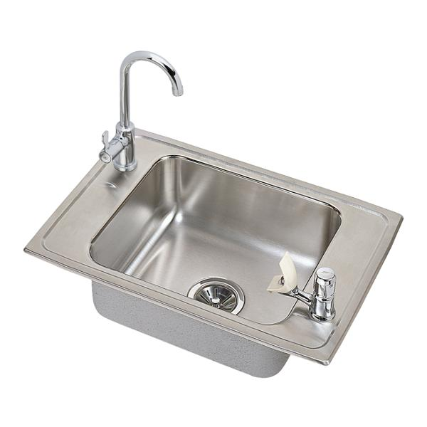 elkay celebrity stainless steel 25   x 17   x 6 1 2  elkay   stainless steel copper fireclay and granite kitchen sinks  rh   elkay com