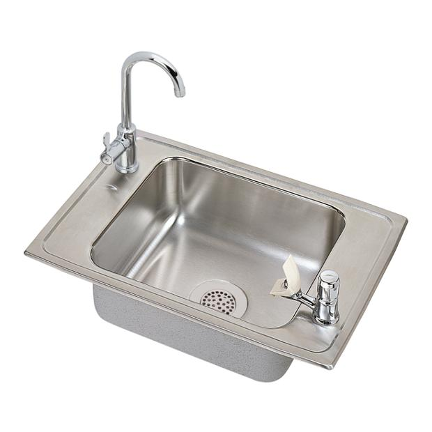elkay celebrity stainless steel 25 x 17 x 6 12 - Drop In Kitchen Sink