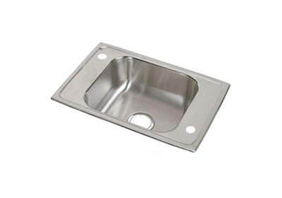 "Image for Elkay Celebrity Stainless Steel 25"" x 17"" x 6-7/8"", Single Bowl Top Mount Classroom Sink from ELKAY"