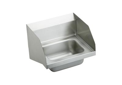 "Image for Elkay Stainless Steel 16-3/4"" x 15-1/2"" x 13"", Single Bowl Wall Hung Handwash Sink from ELKAY"