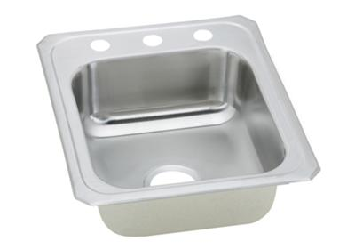 "Image for Elkay Celebrity Stainless Steel 17"" x 21-1/4"" x 6-7/8"", Single Bowl Top Mount Sink from ELKAY"
