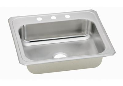 "Image for Elkay Celebrity Stainless Steel 25"" x 21-1/4"" x 6-7/8"", Single Bowl Top Mount Sink from ELKAY"
