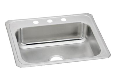 "Image for Elkay Celebrity Stainless Steel 25"" x 22"" x 7"", Single Bowl Top Mount Sink from ELKAY"