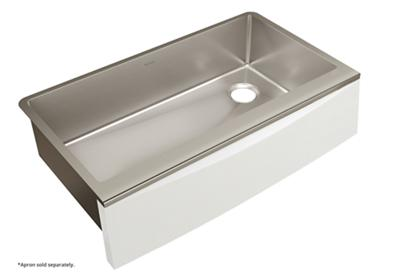 "Image for Elkay Crosstown Stainless Steel 35-7/8"" x 20-5/16"" x 9"" Single Bowl Farmhouse Sink for Interchangeable Apron from ELKAY"