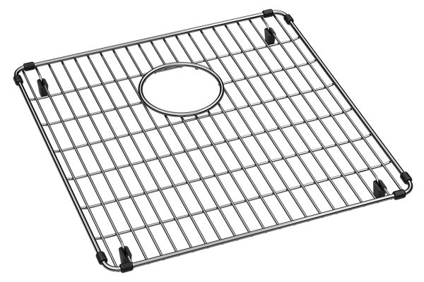 "Elkay Crosstown Stainless Steel 15-5/8"" x 16-1/8"" x 1-1/4"" Bottom Grid"