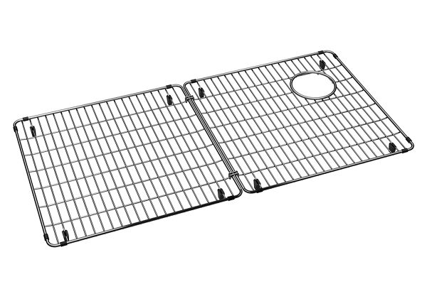 "Elkay Crosstown Stainless Steel 33-1/8"" x 16-1/8"" x 1-1/4"" Bottom Grid"