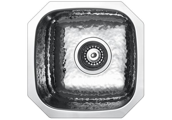 Image for Stainless Steel 358 x 358 x 165 Single Bowl Undermount Kitchen Sink from Elkay Europe and Africa