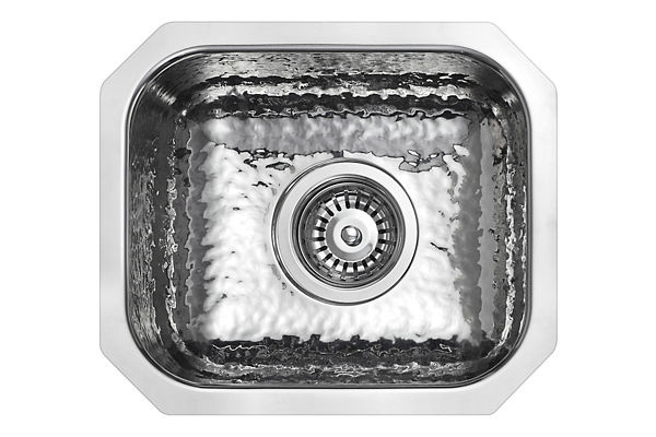 Stainless Steel 356 x 305 x 165 Single Bowl Undermount Kitchen Sink