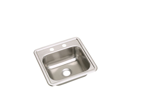Dayton® Stainless Steel Single Bowl Top Mount Bar Sinks (sold in multiples of 50)