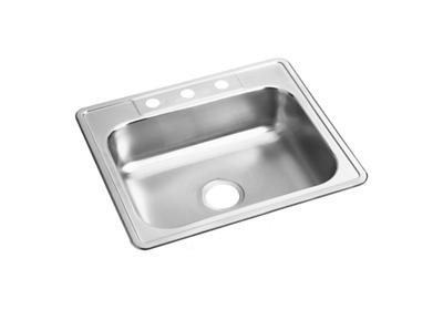 "Image for Dayton Stainless Steel 25"" x 22"" x 6-9/16"", Single Bowl Drop-in Sink from ELKAY"