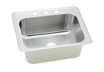 "Image for Elkay Pursuit Stainless Steel 25"" x 22"" x 10-1/4"", Single Bowl Top Mount Laundry Sink from ELKAY"