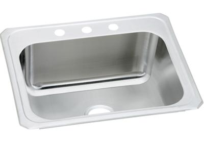 "Image for Elkay Stainless Steel 25"" x 22"" x 10-1/4"", Single Bowl Top Mount Laundry Sink from ELKAY"