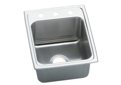 "Image for Elkay Gourmet Stainless Steel 17"" x 20"" x 10-1/8"", Single Bowl Top Mount Sink from ELKAY"